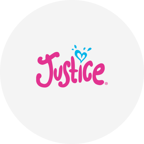 Bamboo Rose customer Justice logo