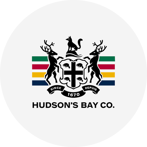 Bamboo Rose customer Hudson Bay logo